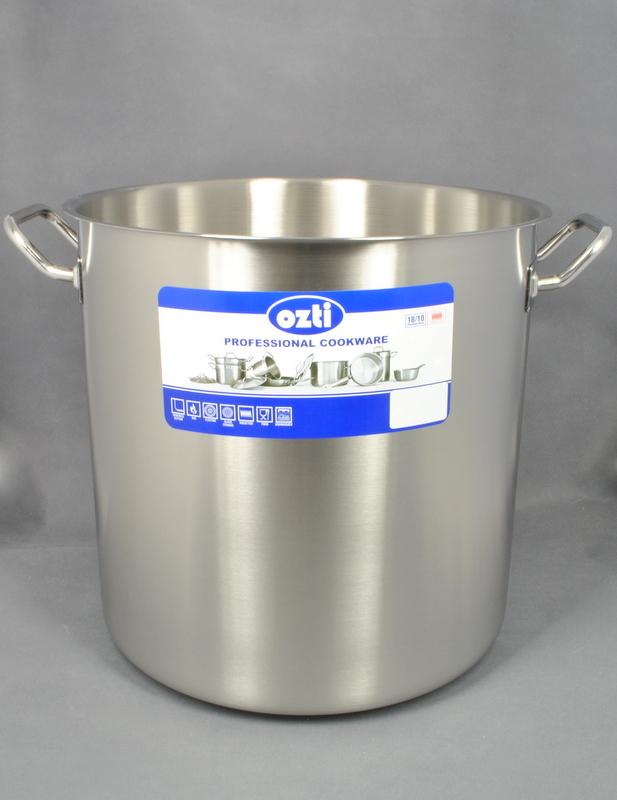 Hrnec na polévku nerez matný 40x40 cm, 47,5 l