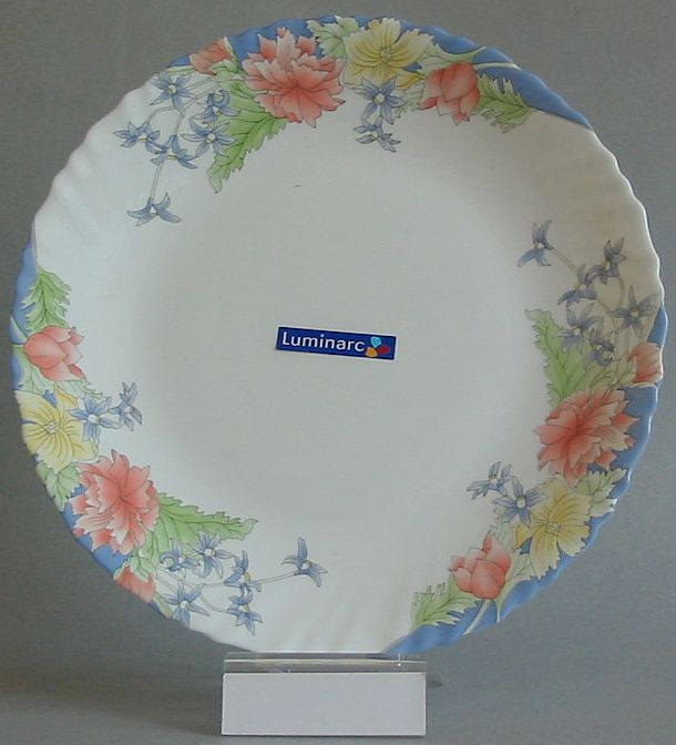 FLORINE Talíř plochý 27,3 cm dekor