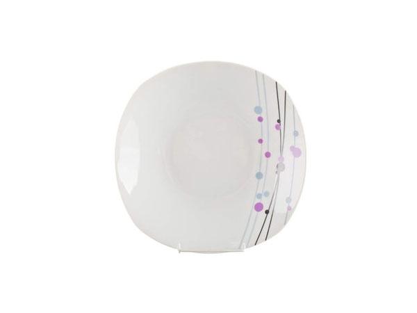 VALENTIA Square talíř hluboký 23 cm - 2. jakost